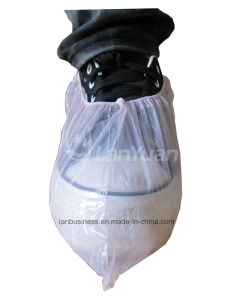 Machine Made Disposable Plastic Shoecover PE Shoecover pictures & photos