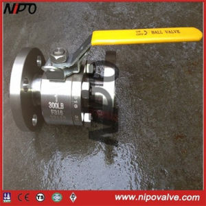 Floating Flanged End Stainless Steel Ball Valve pictures & photos
