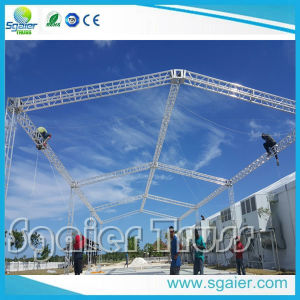 Aluminum Flat Roof Truss Concert Truss Used for Large-Scale Performance pictures & photos