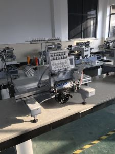 800*500 Sequin Embroidery Device on 12 Colors Single Head Embroidery Machine with Dahao system Br-1201s pictures & photos