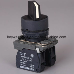 22mm 6V-380V Handle Head Push Button Switch pictures & photos