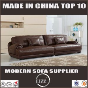 Modern Genuine Leather Sofa for Living Room Divany pictures & photos