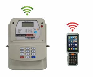 Hand Held Unit Hhu Gas Prepayment Meter RF Communication Remote Reading pictures & photos