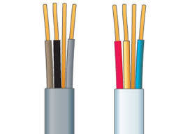PVC Insulated PVC Sheathed Twin Flat Electric Wire Cables pictures & photos