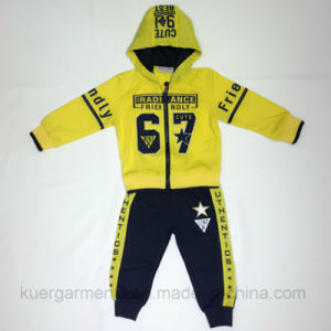 Number Kids Boy Sports Wear Suit in Kids Clothes