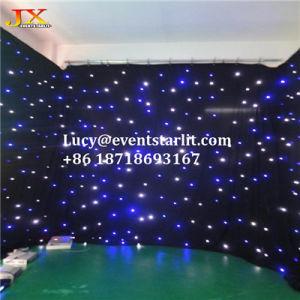 China Wedding Studio Background LED Light Starry Sky Lighting Wedding  Decoration Backdrop Curtain