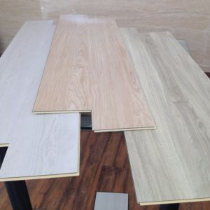 Soundproof Durable WPC Vinyl Click Flooring pictures & photos