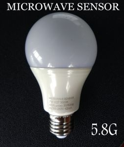 New Smart 5.8g 2.8g LED Microwave Sensor Light Bulb with Radar Sensor for Energy Saving Lamp pictures & photos