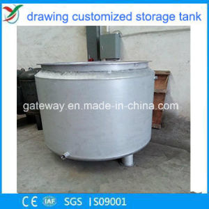 Vertical Water Tank Heater for Oil Storage