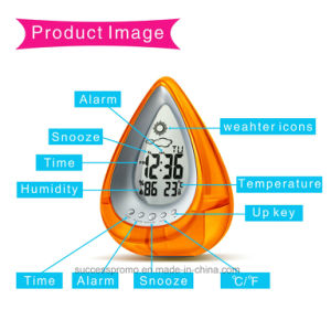 Novelty Gift Eco Friendly Multifunction Water Power Desk Clock pictures & photos