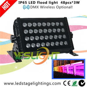 Outdoor LED Wash Light 48PCS*3W RGB LEDs with Ce, RoHS Certificate