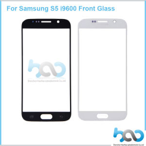Mobile Phone Front Lens for Samsung S5 I9600 Glass Part