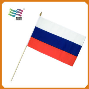 2015 High Quality Custom Printing Hand Flag for Travelling (HYHF-AF006) pictures & photos