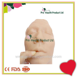 Vivid Human Male Face Skin Suture Practice Model pictures & photos