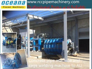 Roller Suspension Culvert Pipe Making Machine