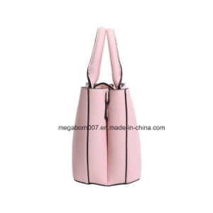New Fashion Personalized Double Inner Bags Lady Handbag (MBNO042057) pictures & photos