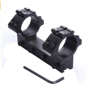 Metal 30mm Scope Ring 11mm Dovetail Rail Mount for Laser Sight Torch Rifle Hunting