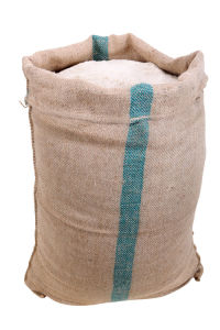 China Manufacturer Drawstring Jute Bag for Wheat pictures & photos