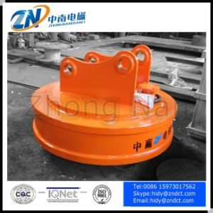 Diameter 700mm Excavator Installation Circular Lifting Magnet Emw5-70L/1 pictures & photos