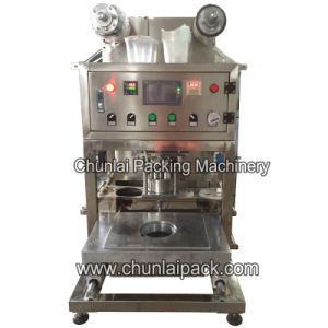 Semi Automatic Plastic Bowl Sealing Machine pictures & photos