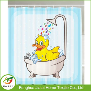 Polyester Bathroom Shower Curtain Novelty Duck Shower Curtains