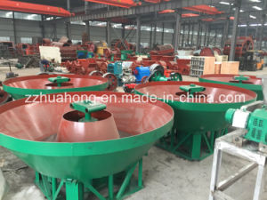 China Manufacture Gold Grinding Wet Pan Mill with High Efficiency pictures & photos