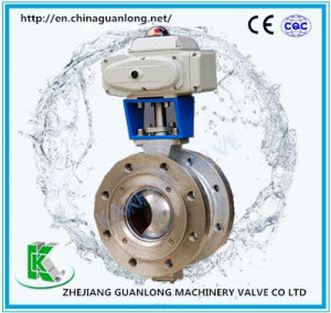 V - Pattern Segmented Ball Valve (VQ347, 647, 947)