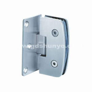 Stainless Steel Shower Glass Door Hinge Bathroom Accessories Glass Clamp (SH-0240) pictures & photos