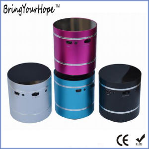 Round Resonance Mini Bluetooth Speaker with LED Lights (XH-PS-667) pictures & photos