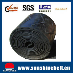 Chevron Conveyor Belt Ep315/3 Coriaceous and High Strength pictures & photos