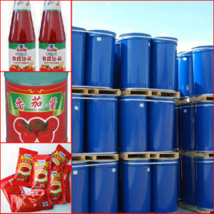 Xinjiang Tomato Paste, HACCP, ISO, Kosher, Halal, Package in Drum 220L and in Cans pictures & photos