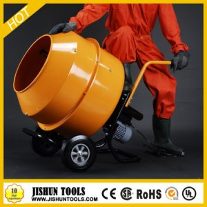 Mini Electric Concrete Mixer with Handle