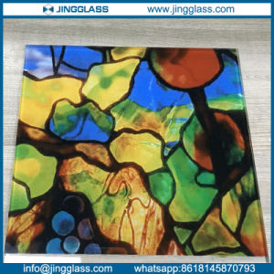 Colorful Digital Ceramic Frit Flat Sheet Glass Panes for Window Door Glass pictures & photos