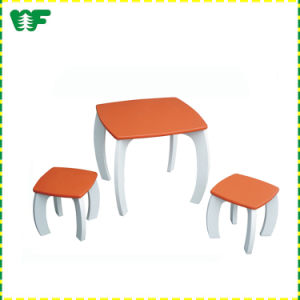 Wholesale China Factory Kid Table Chair, Preschool Table, Wooden Chair pictures & photos