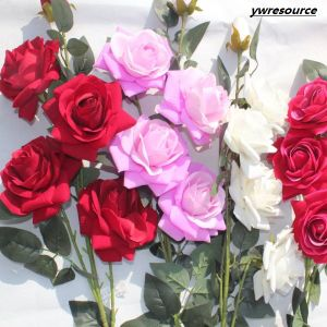 High Quality Artificial Flowers Fake Rose For Wedding Home Decoration