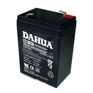 6V 5ah VRLA Sealed Lead Acid Maintenance Free UPS Battery pictures & photos