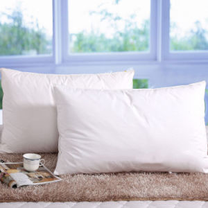 Teflon Water Proof White Goose Down Pillow for Hotel