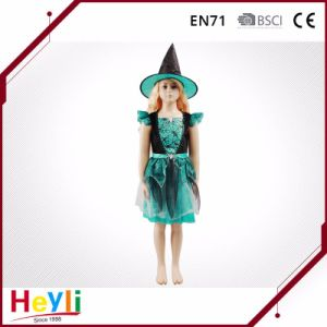 New Design Children Kids Halloween Witches Cosplay Costumes for Party
