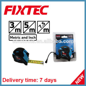 Fixtec Hand Tool Hardware ABS 3m Steel Metric and Inch Measuring Tape pictures & photos