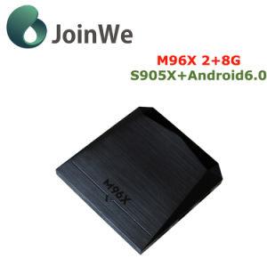 Android 6.0 Ott TV Box M96X Smart TV Box