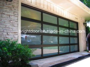 Insulated Glass Garage Door, Aluminum Glass Garage Door pictures & photos
