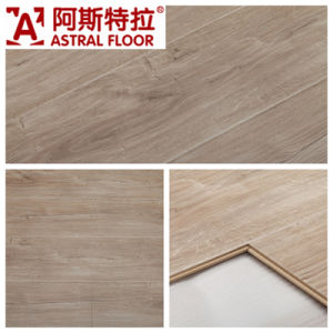 High Gloss (U-Groove) Laminate Flooring (AM5501) pictures & photos