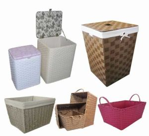 Superbe Paper Rope Storage Baskets And Hampers