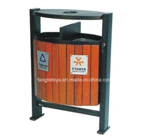 Park Bins, Trash Bin, Dustbin for Public Place, Outdoor Dustbins FT-Ptb011