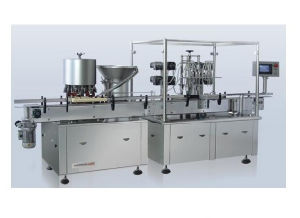 Automatic Fat Emulsion Filling and Rubber Stoppering Machine