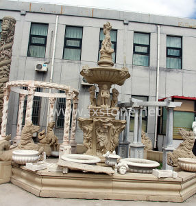 Carved Marble Garden Fountain pictures & photos