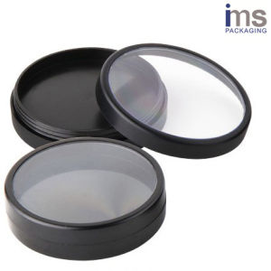 Round Plastic Cosmetic Pot for Cosmetic Packaging pictures & photos