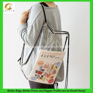 Pvc See Through Drawstring Bag Custom Design Is Welcome