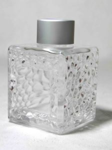 Water Cube Glass Bottle pictures & photos