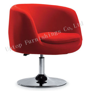 Red Fabric Cup Shape Rotary Salon Leisure Chair (SP-HC199) pictures & photos